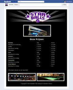 Starballs Prijzen Tab
