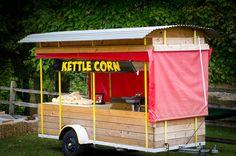 Kettle corn at a wedding!