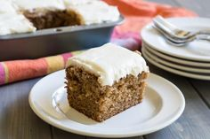 Old Fashioned Spice Cake with Cream Cheese Frosting