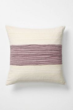 Anthropologie cummerbund pillow