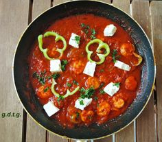 Το Ελληνικό Χρέος στη Γαστρονομία: Γαρίδες σαγανάκι, ένα μεσογειακό πιάτο