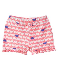 Terry Whale Shorts at Gymboree