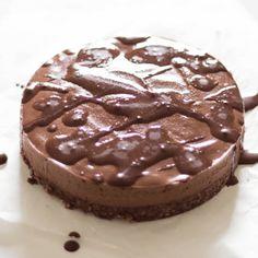 Cheesecake al cioccolato crudo