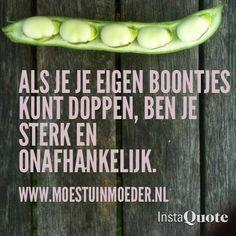 #quote #dutch #moestuin
