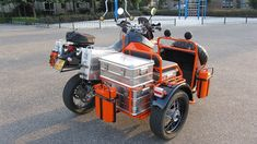 Ural Motorcycle, Motorcycle Trailer, Motorcycle Camping, Moto Bike, Touring Motorcycles, Custom Motorcycles, Custom Bikes, Cars And Motorcycles, Bike With Sidecar