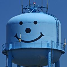 blue smiley face I found up in northern indiana - photographer jolie buchanan