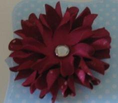 Blumen mit der Blumenstanze gefertigt