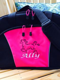 A personal favorite from my Etsy shop https://www.etsy.com/listing/241484776/monogrammed-duffle-perfect-for-tons-of
