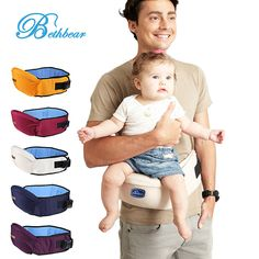 57162e08c92 Baby Carrier 2-18 Months Breathable Waist Stool Walkers Baby Sling Hold  Waist Belt Backpack