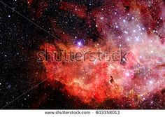 Abstract scientific background - galaxy and nebula in space. Elements of this image furnished by NASA