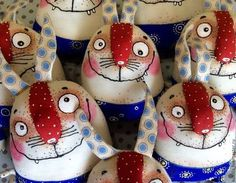 Игрушки животные, ручной работы. Смешные зайцы. Любовь Лаврентьева. Авторские куклы. Интернет-магазин Ярмарка Мастеров. Зайка