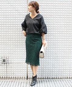 TIENS ecoute(ティアンエクート)のスカラップレーススカート(スカート)|詳細画像