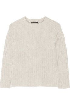 The Row Milo ribbed cashmere sweater | NET-A-PORTER