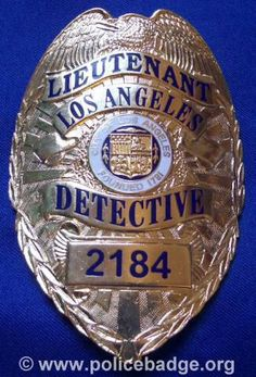 Badge Los Angeles Police Serie 5 by dynamicentry122, via Flickr