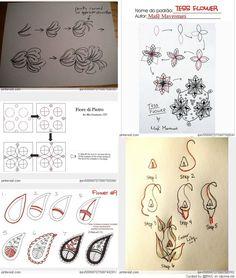 Zentangle - Zendoodle Patterns