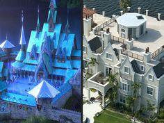 See 5 Real-Life Disney Castles You Can Rent (PHOTOS)| Aladdin, Frozen, Pocahontas, Snow White and the Seven Dwarfs, The Little Mermaid
