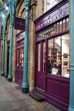 London Tea Palace. Been there :] Bought the peach fruit infusion tea. Soooo sweet and has a romantic smell that lingers through the house when I boil a pot. Will b buying more soon and importing; it's worth it.