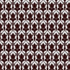 Sherlock Wallpaper pattern fabric by haircurl on Spoonflower - custom fabric-- my next civil war ball gown will be Sherlock themed with his wallpaper :D