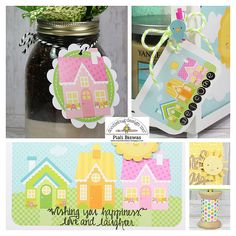 Doodlebug Design Inc Blog: Bunnyville Collection: Cards & Tags by Piali