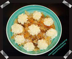 Με κανέλα και πινέλα: Τα βελούδινα τρίγωνα Πανοράματος Cauliflower, Vegetables, Cake, Sweet, Desserts, Blog, Candy, Tailgate Desserts, Cauliflowers