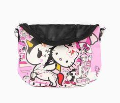 tokidoki x Hello Kitty Crossbody Pouch: Kimono
