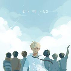 BTS Young Forever MV Fanart #btsfanart #kimtaehyung