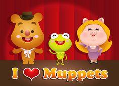 Kawaii Muppets   Flickr - Photo Sharing!