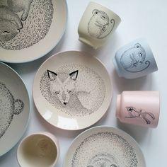 Доброе нежное утро!😍 Очаровательная датская детская посуда в наличии! Количество ограничено, поэтому советуем поторопиться!☝ #mycharmshop…