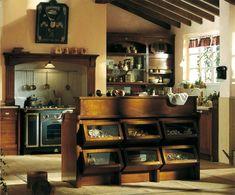 country style italienische landhausküche just love the fridge