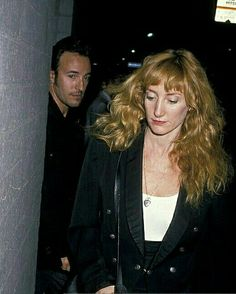 Bruce and Patti~during their liaison in 1988~♡