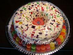 Mosaico de gelatina, Receita de Vovó Cristina - Petitchef