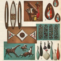 1960s Wall Hangings and Decorating Accents