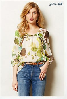 A Pretty Spring Blouse