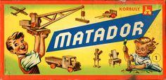 Matador, construction play set