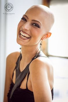 Bald Heads - Hairl Loss Tips Girl Short Hair, Short Hair Cuts, Short Hair Styles, Bald Head Women, Shaved Head Women, Crop Haircut, Girls Short Haircuts, Bald Hair, Hair Loss Treatment