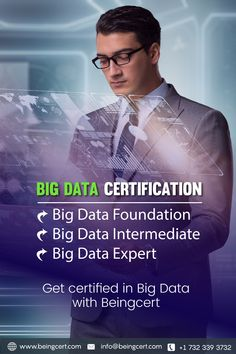 Become certified Big Data expert with a worldwide recognized Beingcert certification ! Big Data, Certificate
