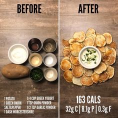 Potato Chips and Sour Cream and Onion Dip recipe. If you're looking for a quick and easy snack to pa - Health and Nutrition Potato Chips and Sour Cream and Onion Dip recipe. If you're looking for a quick and easy snack to pa - Health and Nutrition Easy Snacks, Healthy Snacks, Easy Meals, Healthy Eating, Healthy Recipes, Sour Cream And Onion Dip Recipe, Vegan Enchiladas, Healthy Meal Prep, Keto Meal