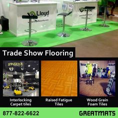 472a19f943f5 Greatmats has a large selection of trade show flooring including  interlocking carpet tiles