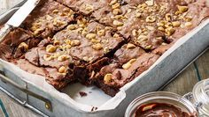 Double hazelnut brownie - in less than 1 hour // Better Homes and Gardens