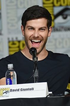 David Giuntoli at an event for Grimm (2011)