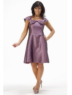 Absorbing Transformable Cap Style Sleeves Purple A-line Cocktail Dress In Britain