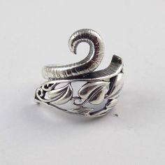 1 Pcs Leaf vine Shape Design Style Ring 925 Sterling Silver High Polished Ring #RAAGARW