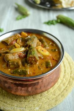 Do you enjoy Indian cuisine? Interesting in knowing more about it? Then read on and enjoy! Okra Recipes, Fried Fish Recipes, Curry Recipes, Vegetarian Recipes, Cooking Recipes, Recipies, North Indian Recipes, South Indian Food, Indian Food Recipes