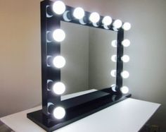 Step by Step LED Vanity Mirror in a Picture Frame with dimmer