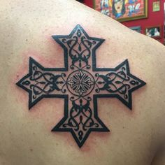 Coptic Orthodox Cross Tattoo