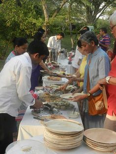 Event: The Gnostic Centre celebrated its 18th anniversary, and the 8th anniversary of the enshrinement of the sacred relics of Sri Aurobindo; Tea at the GC lawns; Date: 28th March 2015