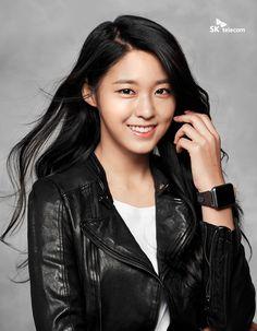 AOA 설현 seolhyun 雪炫  2016 K-pop 루나워치 화보