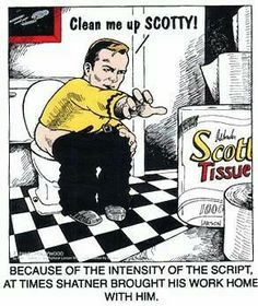 Clean me up Scotty