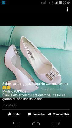 Sapato Satisfashion Shoes #saltogrosso #weddingShoes