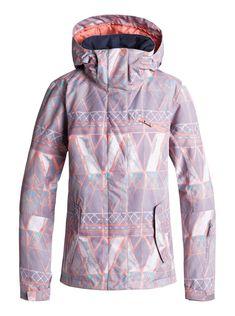 Women's Roxy Jetty Jacket 2019 - X-Small Pink Roxy, Snowboarding Outfit, Snowboarding Women, Gray Jacket, Jacket Style, Catsuit, Snowboard Shop, Womens Snowboard Jacket, Ski